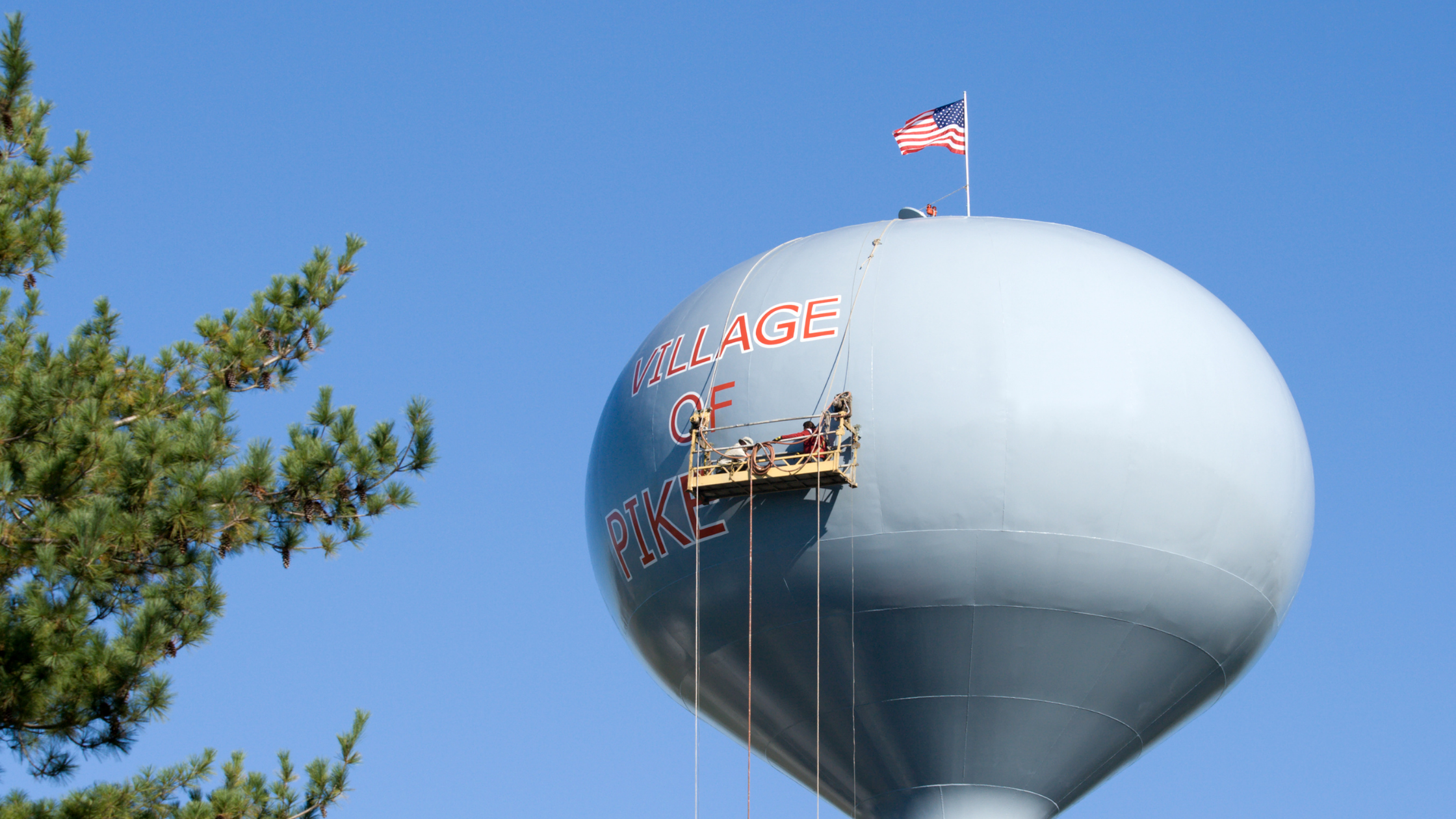 Painting Water Tower