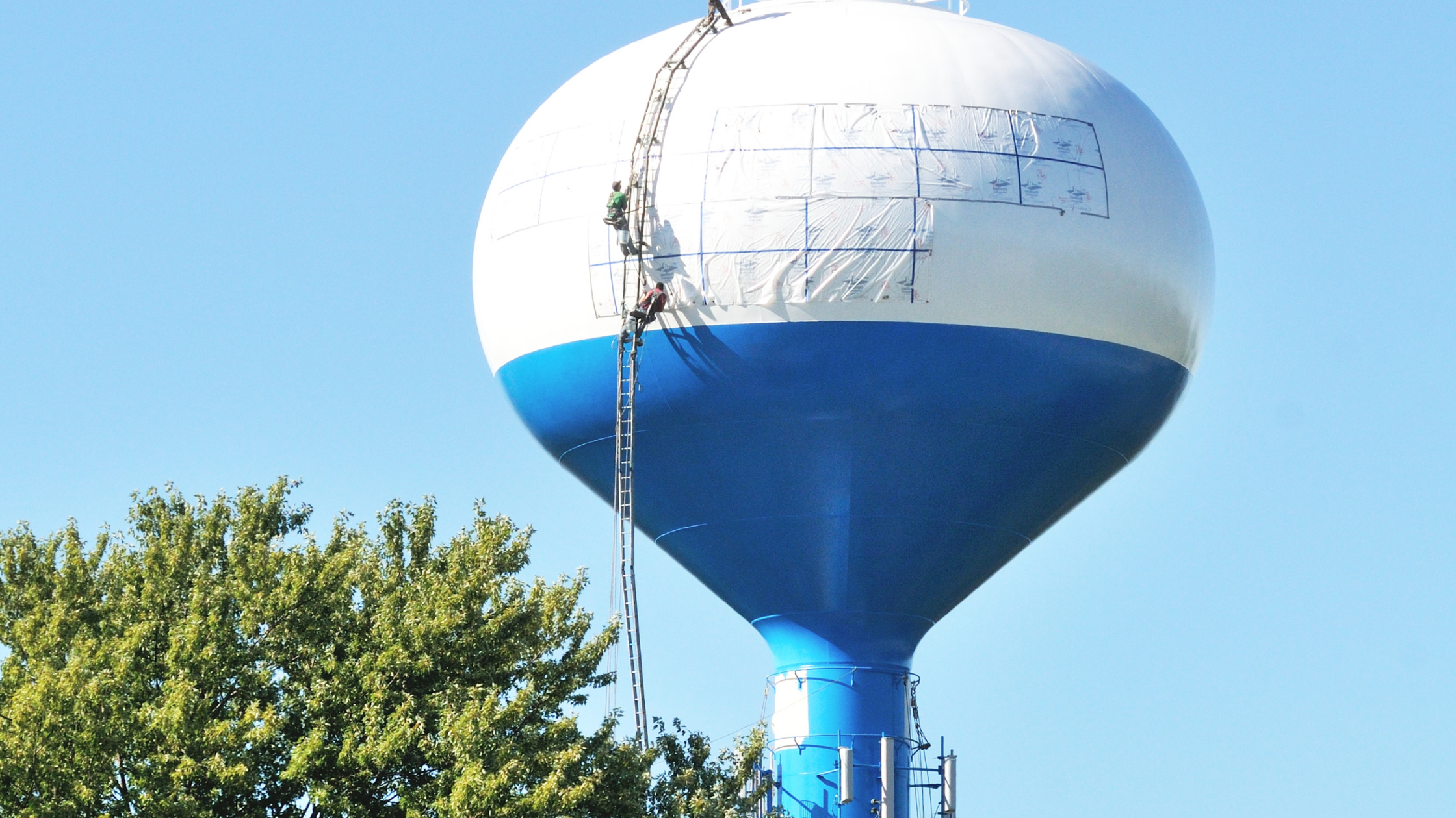 Painting Water Towers