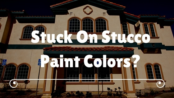 stucco paint colors