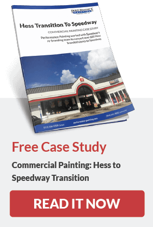Free Case Study - Commercial Painting, Hess to Speedway Transition