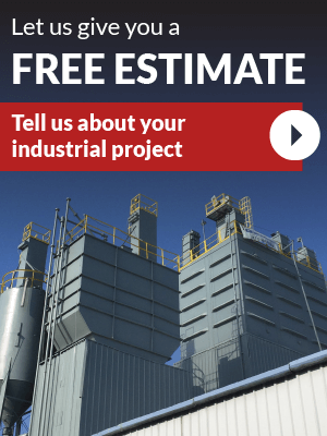 Let us give you a free estimate - tell us about your industrial project now!