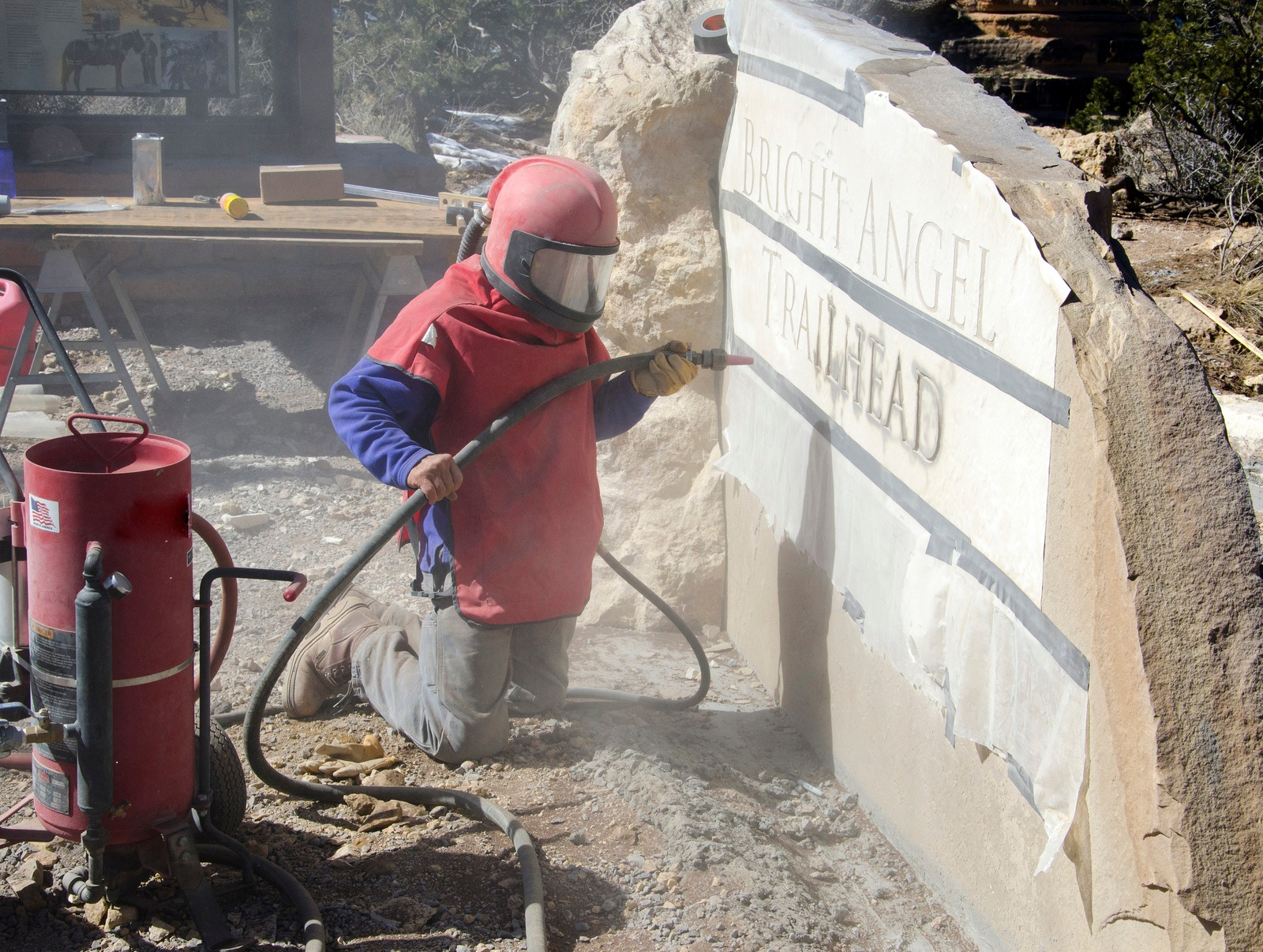 Safety Considerations for Sand Blasting Operations