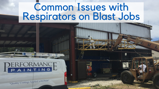 Common Issues with Respirators on Blast Jobs