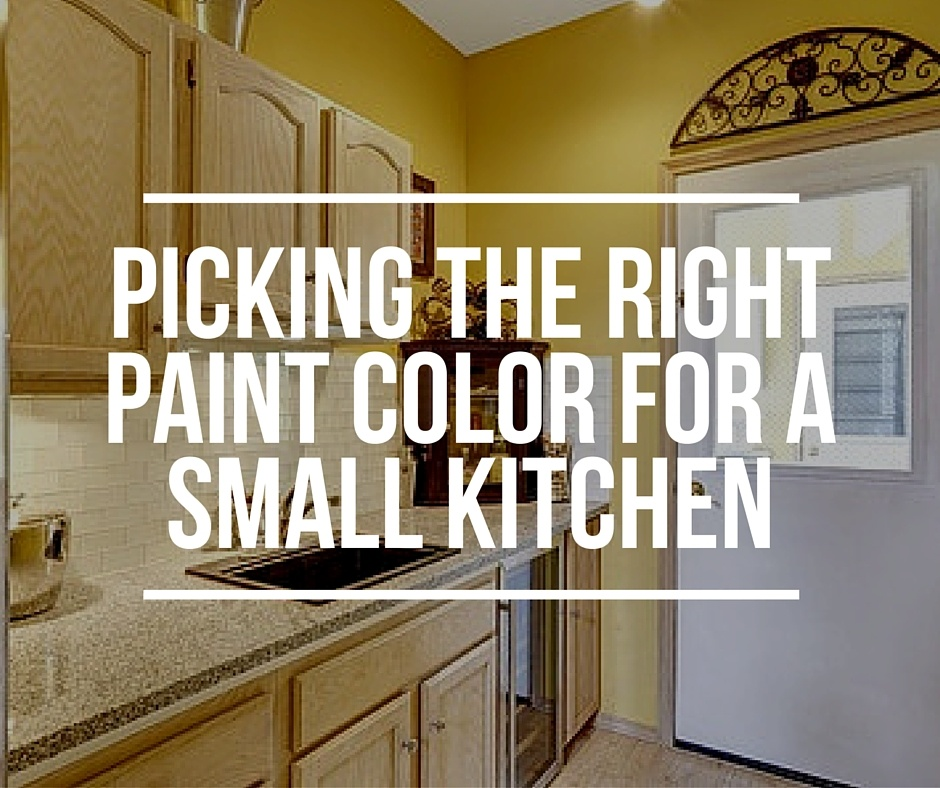 how to pick the right paint color for a small kitchen - Small Kitchen Paint Ideas