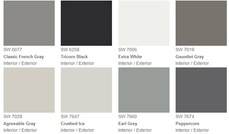 how to use the color grey effectively
