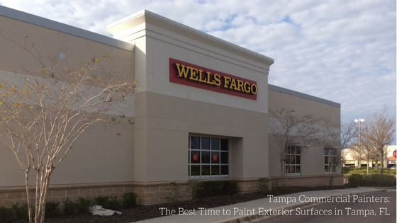 Tampa Commercial Painters The Best Time To Paint Exterior Surfaces In Fl