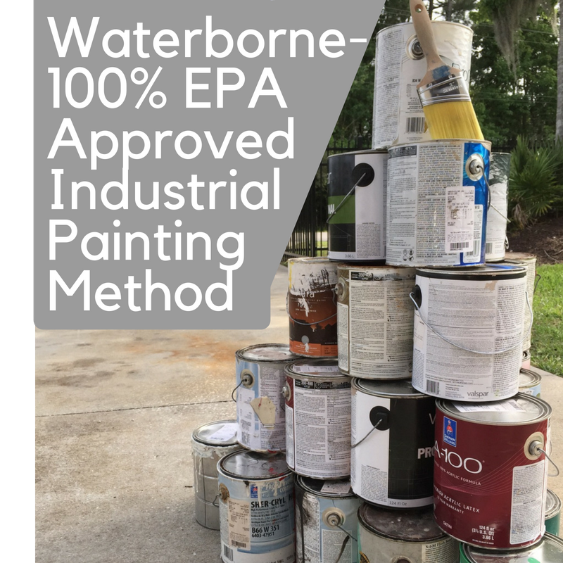 Waterborne - 100 EPA Approved Industrial Painting Method