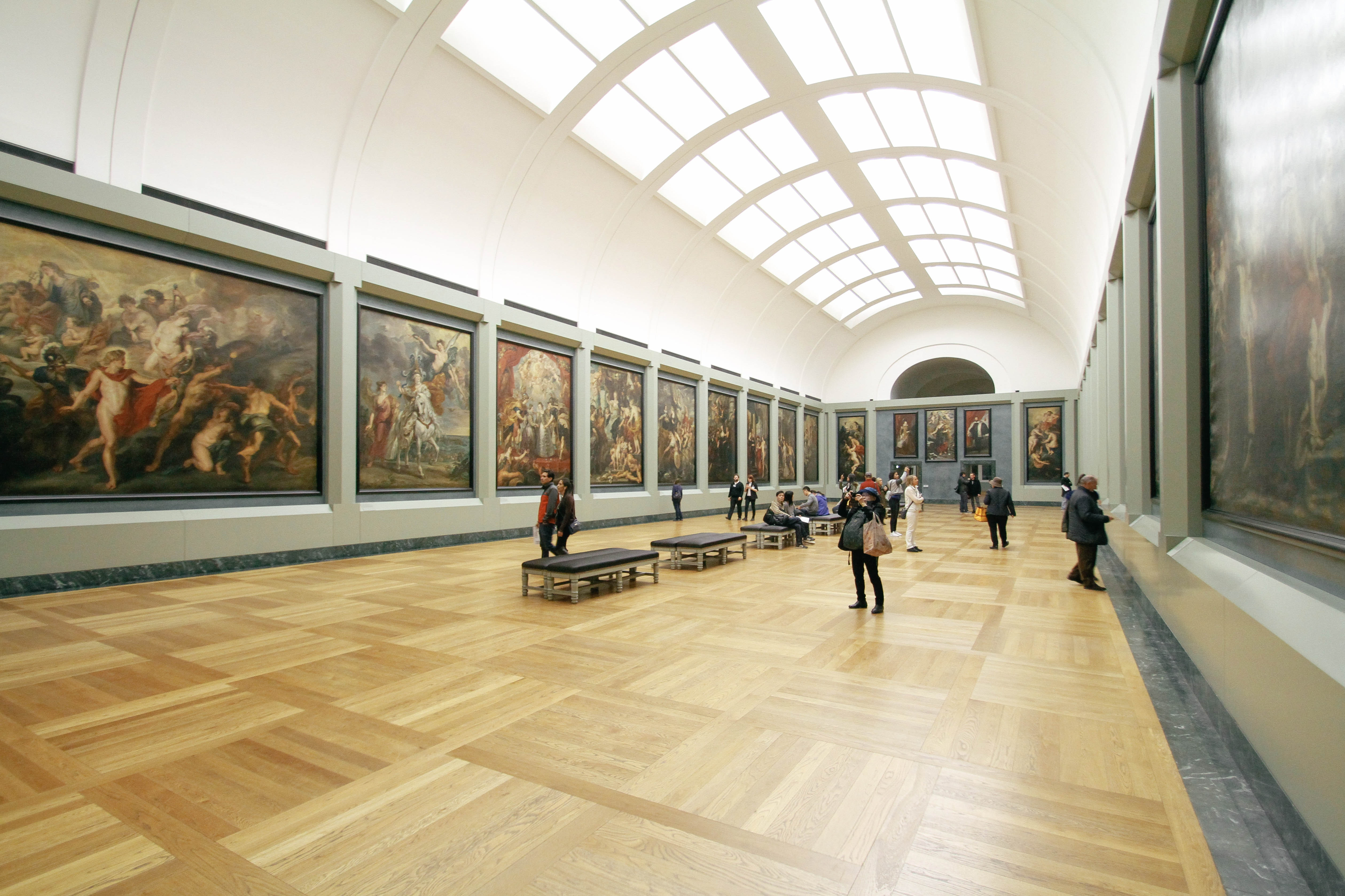 Commercial Painting in Museums