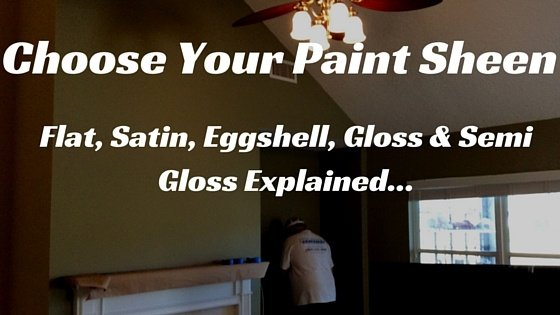 When It Comes To Interior Paint Work For Your Home Or Business, Thereu0027s  More To Choose Than Just The Color. The Sheen Of Your Paint Plays A Dual  Role, ...