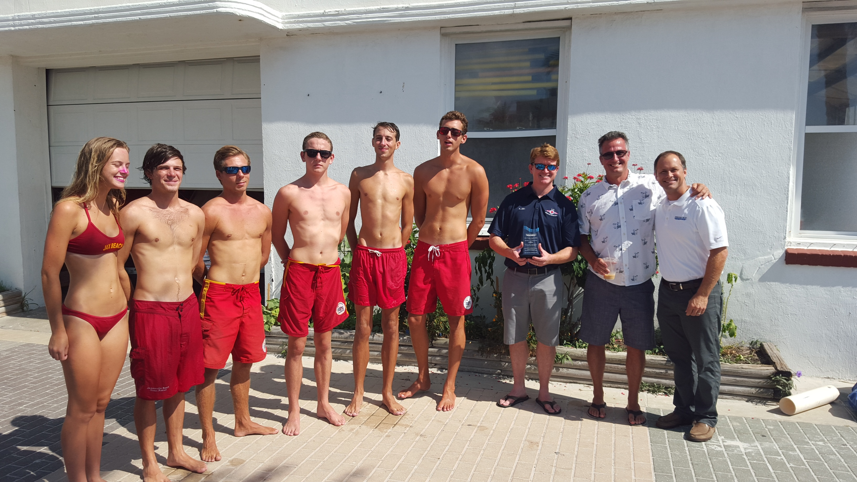 Jacksonville Beach Lifeguard Station Awarded The Gift of Color